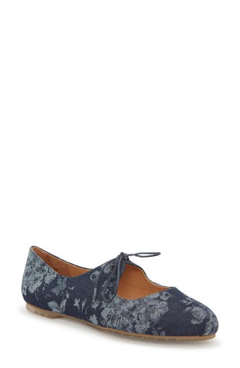 Me Too Cacey Mary Jane Flat- Blue