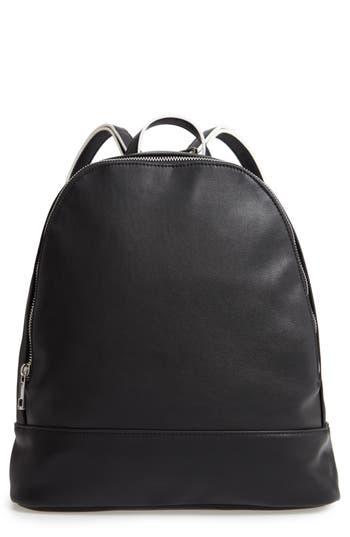 Sole Society Haili Faux Leather Backpack - Black