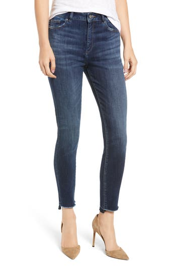 1961 Chrissy Ultra High Waist Ankle Skinny Jeans, Wakely