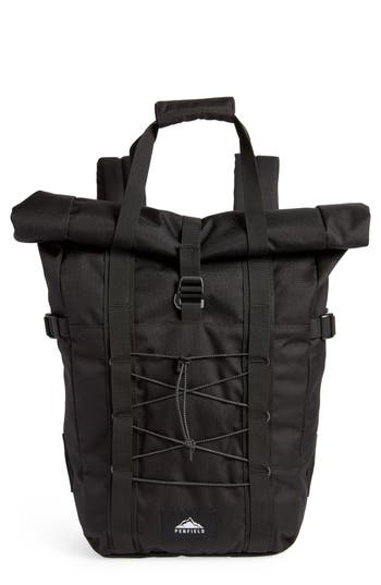 PENFIELD MISTRAL CONVERTIBLE BACKPACK - BLACK