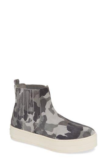 Jslides Hypo High Top Sneaker, Grey