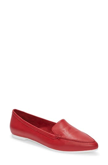 Me Too Audra Loafer Flat- Red