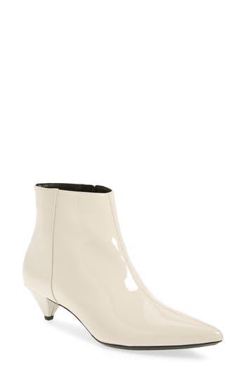 Calvin Klein Larissa Kitten Heel Bootie, White