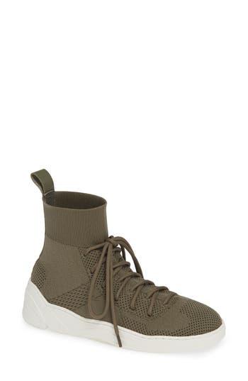 Jslides Jilly High Top Sneaker, Green