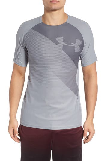 Under Armour Threadborne Vanish Fitted Shirt, Grey