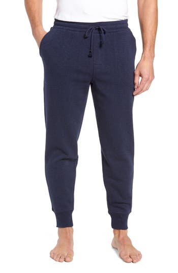 Nordstrom Shop French Terry Pajama Pants, Blue