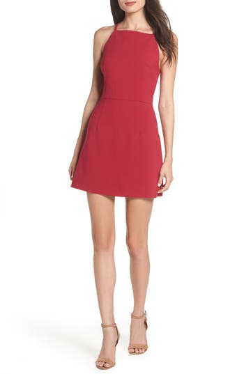 French Connection Whisper Light Sheath Dress, Red
