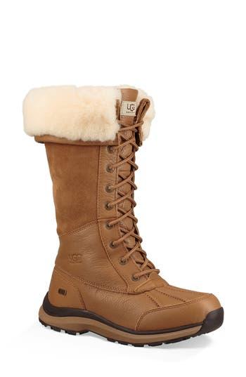 Ugg Adirondack Ii Waterproof Tall Boot, Chestnut
