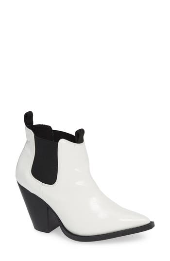 Jane And The Shoe Lila Bootie, White