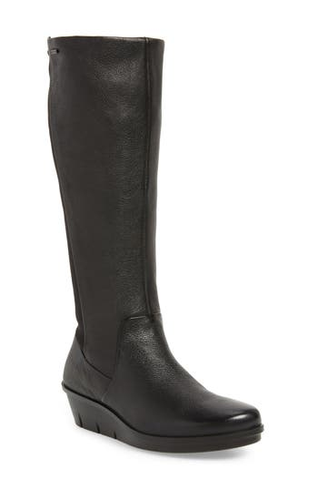 Ecco Skyler Gore-Tex Knee High Boot, Black