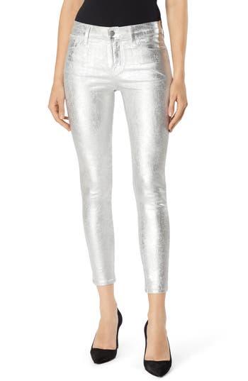 J Brand 835 Capri Skinny Jeans, 3 - White