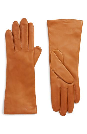 Victorian Hand Fan, Gloves, Belt Accessories Womens Halogen X Atlantic-Pacific Cashmere Lined Leather Gloves $99.00 AT vintagedancer.com