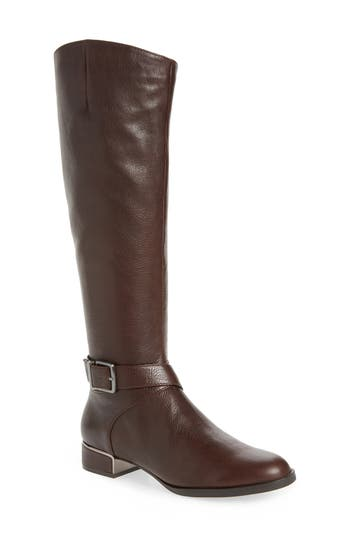 Kenneth Cole New York Branden Knee High Riding Boot, Brown