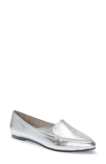 Me Too Audra Loafer Flat, Metallic