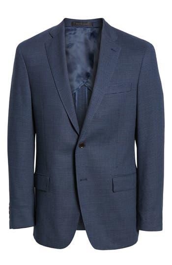 HART SCHAFFNER MARX Classic Fit Soft Sport Coat in Mid Blue