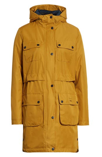 Barbour Isobar Waterproof Jacket, US / 8 UK - Yellow