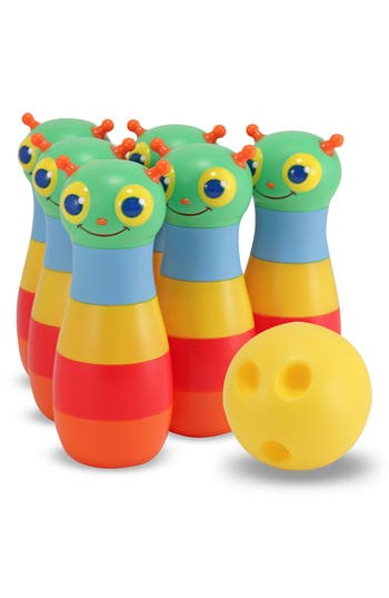 Toddler Melissa & Doug 'Happy Giddy' Bowling Set