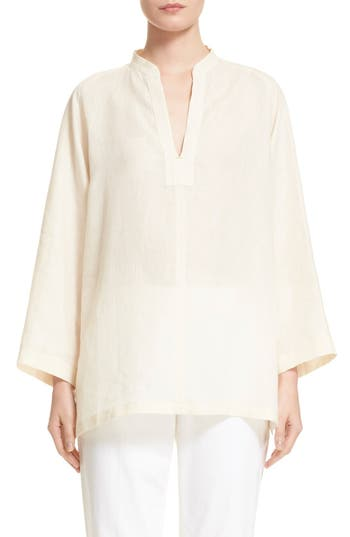 Women's Max Mara 'Picchio' Linen Blouse