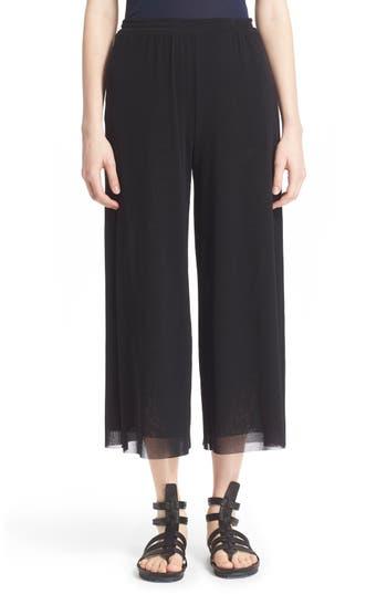 Fuzzi Tulle Mesh Culotte Pants