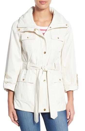 Women's Ellen Tracy Techno Short Trench Coat