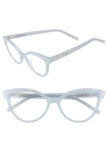 28de162f433 Kate Spade  Danna  52Mm Cat Eye Reading Glasses - Milky Mint