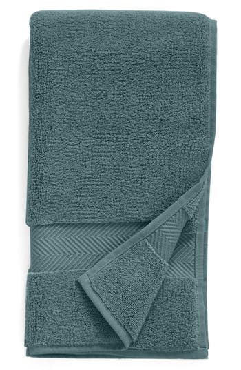 Nordstrom At Home Hydrocotton Hand Towel, Size One Size - Blue/green