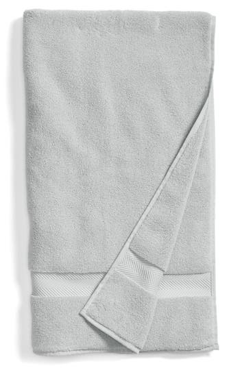 Nordstrom At Home Hydrocotton Bath Towel, Size One Size - Grey