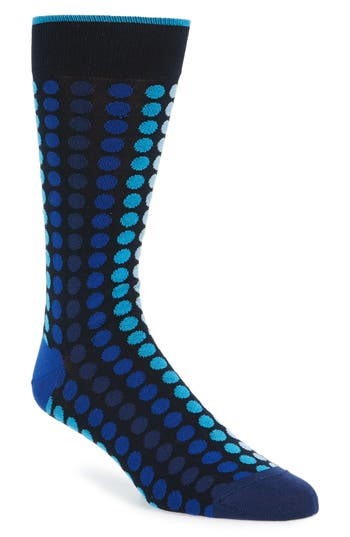 Men's Bugatchi Dot Socks