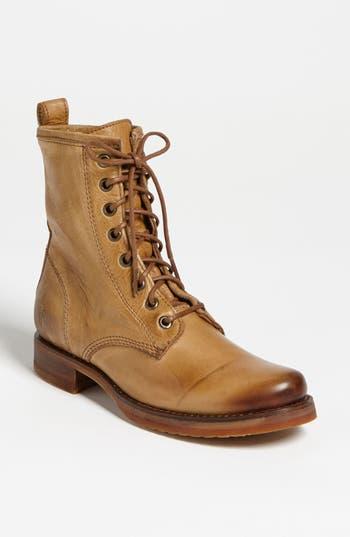 Women's Frye 'Veronica Combat' Boot, Size 6 M - Brown