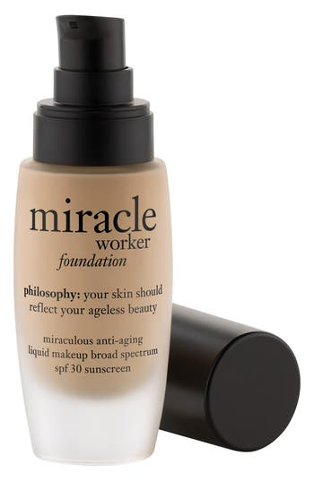 Philosophy 'Miracle Worker' Miraculous Anti-Aging Foundation Spf 30, Size 1 oz - Shade 4