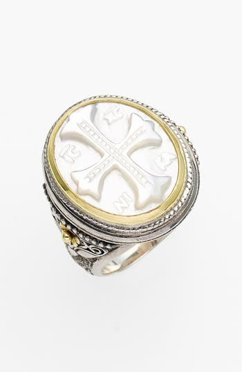 Women's Konstantino 'Athena' Mother Of Pearl Signet Ring