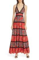 6a3212ad734b Alice + Olivia Karolina Mixed Print Maxi Dress, Main Image