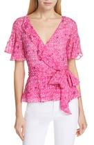 539f5a15fbc33 Tanya Taylor Bianka Silk Blend Belted Top (Regular & Plus Size), Main Image