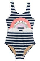 754b55f865 Mini Boden. $34.00 · Shade Critters Sequin Rainbow One-Piece Swimsuit  (Toddler Girls & Little Girls),