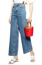 611650caa5 Bardot Paperbag Wide Leg Jeans (Vintage) | Nordstrom